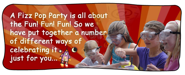 Science Birthday Parties