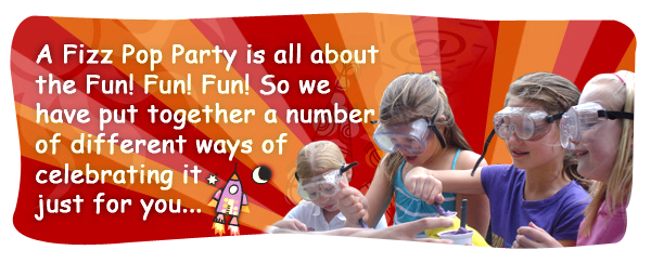Science Parties From Fizz Pop