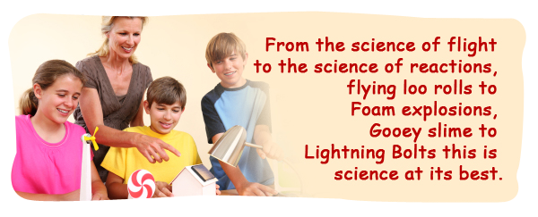 Find Out More About Our Science Parties and Workshops