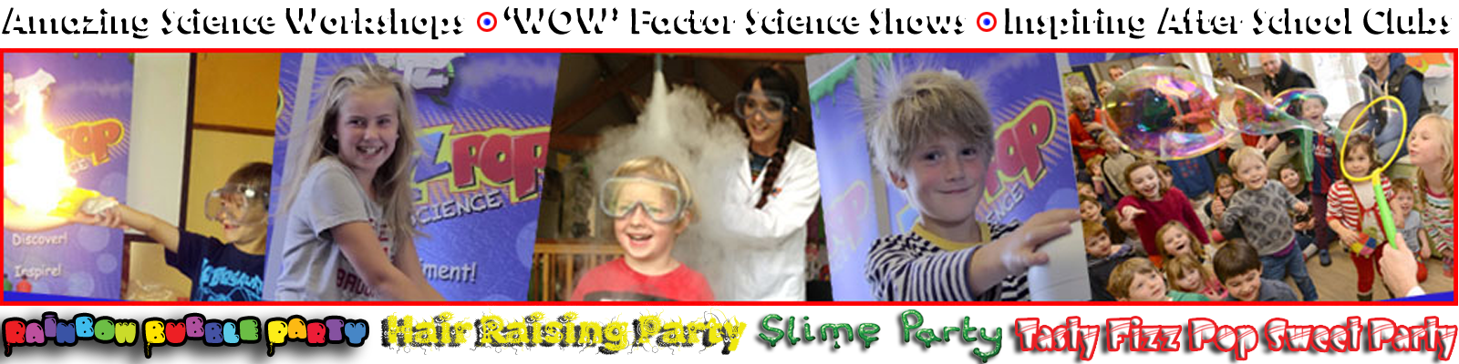 science party fun